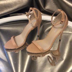 Tan Liliana heels